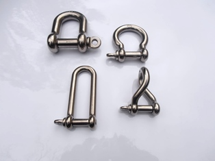 Stainless Steel Marine & Industrial Fixings and Fittings, Shackles. Perth Australia
